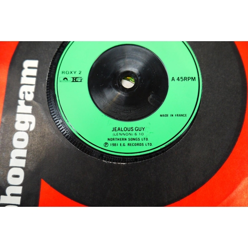 196 - Vinyl - Rock & Pop collection of over 150 45's mainly from the 70's onwards including Queen, Black S...