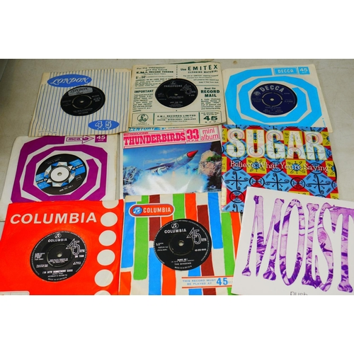 51 - Vinyl - Collection of over 200 45's spanning genres & decades from the 60's onwards including some c...