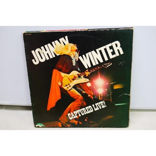 68 - Vinyl - Johnny & Edgar Winter collection of 10 LP's to include from Johnny Second Winter, Progressiv...