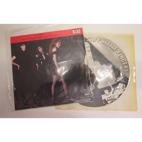 344 - Vinyl - Two rare punk / new wave picture disc albums to include The Cramps 'All Women Are Bad', and ...