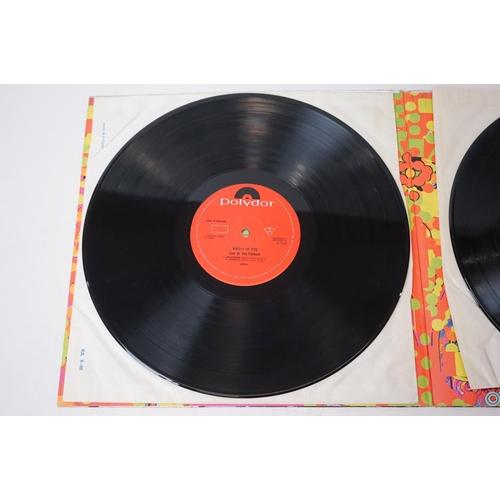 391 - Vinyl - Cream Wheels Of Fire (Polydor 582031/2) mono gatefold sleeve.  Sleeve VG some wear to spine ...
