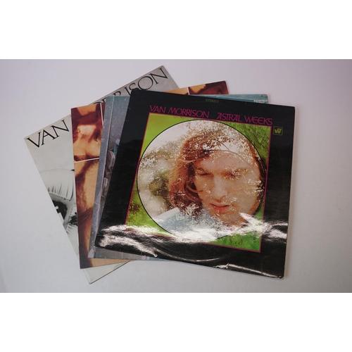 399 - Vinyl - Van Morrison 4 LP's to include Wavelength (K 56526), Moondance (K46040), Astral Weeks (WS 17...
