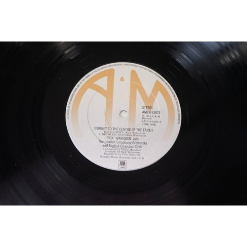 478 - Vinyl - Four Yes and Rick Wakeman LPs to include Classic Yes ATL50842 German pressing, Yesterdays K5...