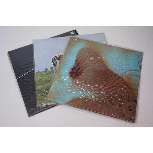 479 - Vinyl - Three Pink Floyd LPs to include Meddle SHVL795, Atom Heart Mother SHVL781 and Dark Side of t...