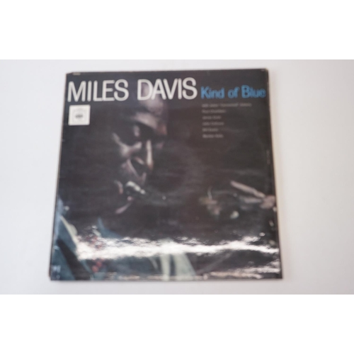 148 - Vinyl - Seven Miles Davis LPs to include Nefertiti on Columbia CL2794, Miles by the Sky CBS 85548, I...
