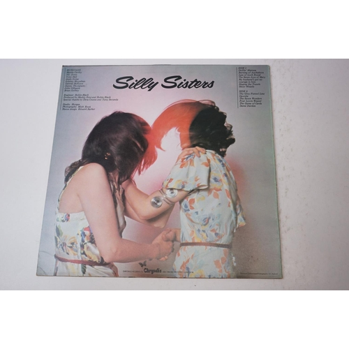 181 - Vinyl - Maddy Prior and Judy Tabor Silly Sisters LP CHR4101, signed to front by both artists