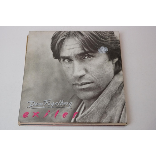184 - Vinyl - Eight Dan Fogelberg LPs to include Exiles, The Wild Places, Phoenix, Nether Lands, Captured ...