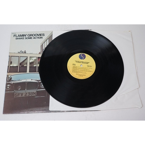 185 - Vinyl - Two Flamin Groovies LPs to include Shake Some Action on Sire SASD7521 and Flamin' Groovies N...