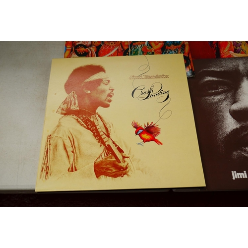 50 - Vinyl - Jimi Hendrix Self Titled Box Set (2625 040).  11 LP and 1 double LP box set.  Box has some m...