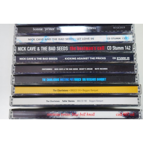 542 - CDs - around 150 cd albums, singles and boxsets in excellent condition featuring indie, alternative,...