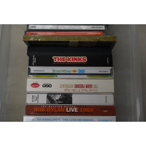 544 - CDs -Over 120 cd albums, singles and boxsets in excellent condition featuring indie, alternative, po...