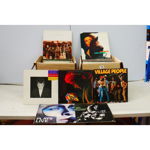 596 - Vinyl - Collection of over 100 Rock & Pop LP's to include Eagles, Paul Simon, ELO, Styx, Yes, Marvin...