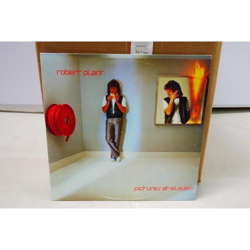 73 - Vinyl - Collection of around 70 Rock LPs to include ZZ Top, Joe Cocker, Whitesnake, Robert Plant etc...