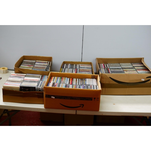 868 - CDs - Over 400 CDs to include Blade Runner, Lost Boys, Sheryl Crowe, No Doubt etc, various artists a...