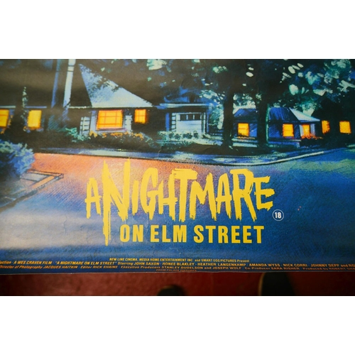 717 - Film Poster - A Nightmare on Elm Street film poster from video store collection, 28