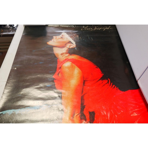 721 - Posters - Eight posters of actors, artists and musicians to include Marilyn Monroe 1973 Swedish Impo...