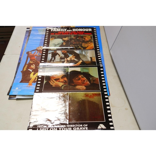 727 - Film Posters - Collection of 45 Home Video release film posters circa 1980s to include Wizards of th...