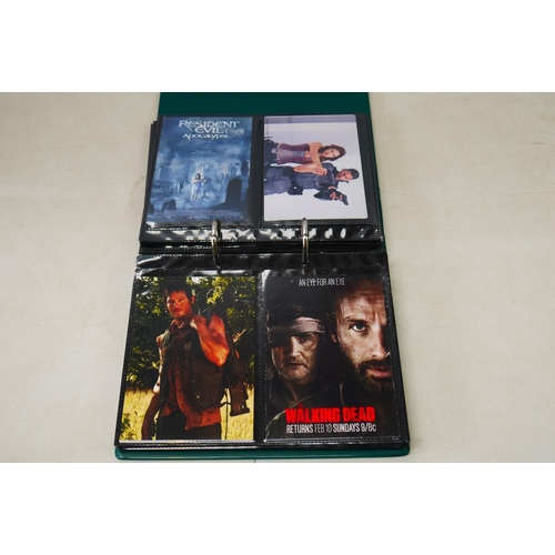 735 - Film Postcards - Around 70 contemporary film postcards to include Marvel, Planet of the Apes etc, co...