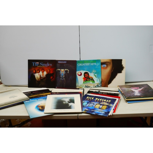 903 - Vinyl - Around 40 Rock and Pop LPs to include The NIce, Phil Collins, Rick Wakeman, Genesis, Dire St...