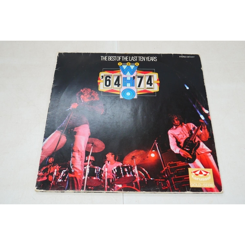 905 - Vinyl - Five The Who LPs to include 2 x Odds & Sods, 64-74, Who Are You and The Kids Are Alright, sl...