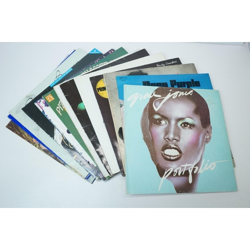579 - Vinyl - Around 75 Rock & Pop LPs to include 8 x The Beatles (5 without sleeves), Phil Collins, Billy...