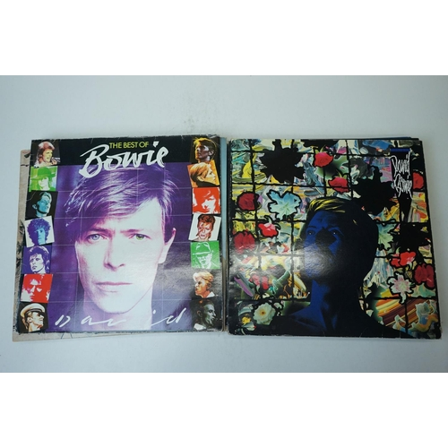770 - Vinyl -  44 Rock LPs to include 12 x The Beatles, 24 x David Bowie, 4 x Led Zeppelin, 2 x John Lenno...