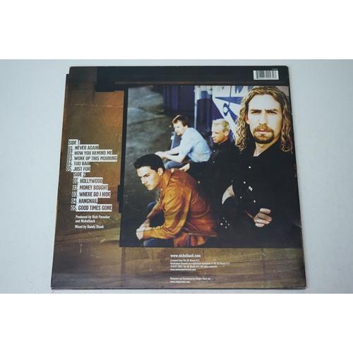 858 - Vinyl - Nickleback Silver Side Up LP Simply Vinyl S160001 with lyric inner, sleeves vg+, vinyl vg