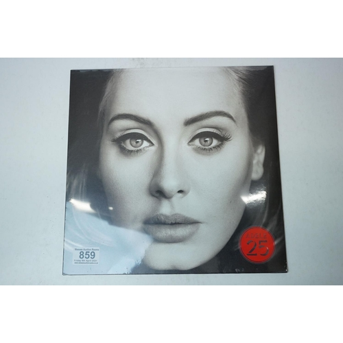 859 - Vinyl - Adele 25 LP on XL XLLP740, sealed