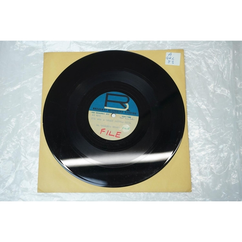 873 - Vinyl - Two Al Gallico Audiodiscs to include You Aint Nothing But A Girl and You Are A Sweet Little ...