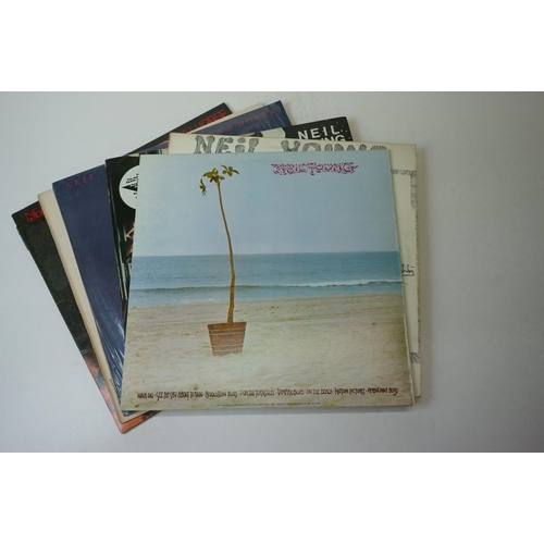 101 - Vinyl - 10 Neil Young LPs to include Everybody Knows This Is Nowhere, After The Goldrush RSLP6383, H...