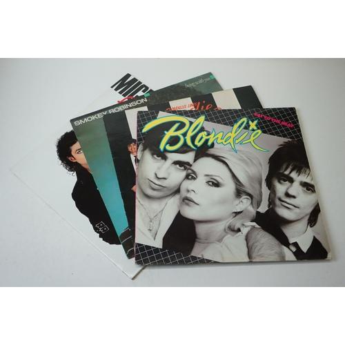145 - Vinyl - Rock, Pop & Metal collection of approx 60 LP's to include Kate Bush, Queen, Bon Jovi, Meat L...