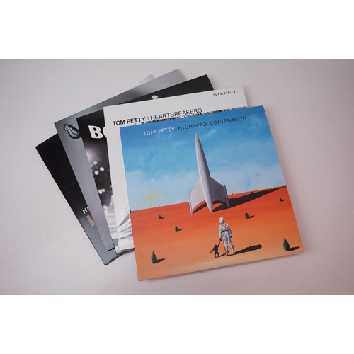 849 - Vinyl - Five contemporary LPs to include Peter Gabriel Up PGDLP11, Bob Dylan Modern Times on Columbi...