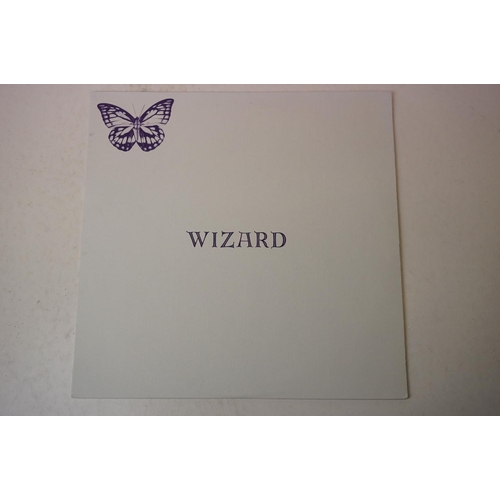852 - Vinyl - Wizard The Original Wizard LP on Akarma (Italy) with insert, ex/ex