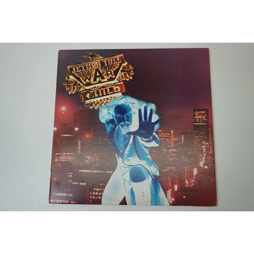 106 - Vinyl - Four Jethro Tull LPs to include Broadsword CDL1380, A CDL1301 Minstrel in the Gallery CHR108...