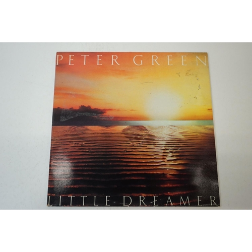 137 - Vinyl - Three Peter Green LPs to include The Ego of the Game RSLP9006, In The Skies PVLS101 and Litt...