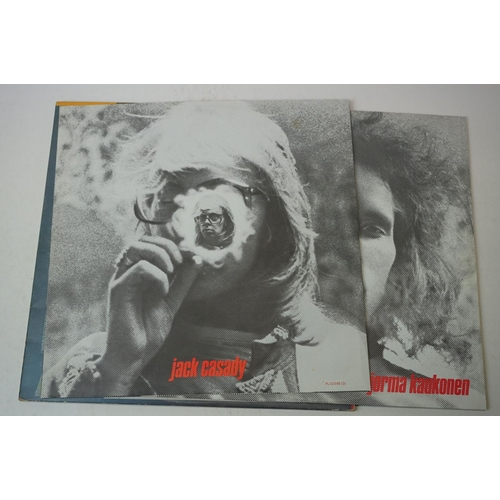 138 - Vinyl - Three Hot Tuna LPs to include The Phosphorescent Rat on Grunt 0598, Double Dose FLO2545 and ...