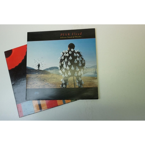 166 - Vinyl - Five Pink Floyd LPs to include Wish You Were Here SHVL814, Animals SHVL815, The Wall SHDW411...