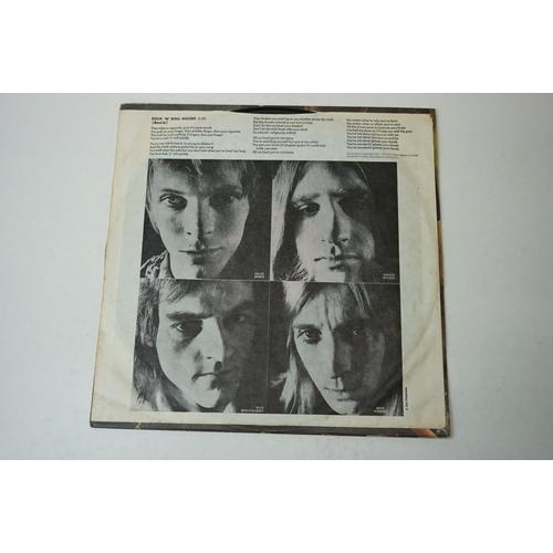 17 - Vinyl - David Bowie Ziggy Stardust (SF 8287) gloss RCA orange label with Titanic / Chrysalis publish...