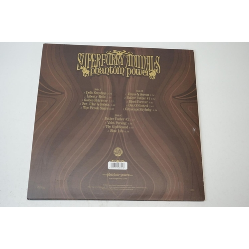 21 - Vinyl - Super Furry Animals Phantom Power LP on Epic 512375 1 (2003), vinyl ex, sleeves vg++ with du...