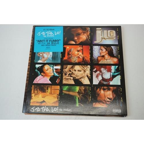 26 - Vinyl - Four Contemporary Pop LPs to include ltd edn Bjork Medulla Double LP TPLP358, J Lo The Remix...