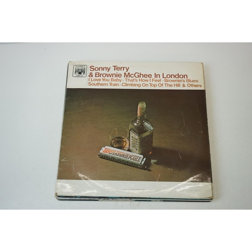 28 - Vinyl - Blues collection of approx 19 LP's including Josh White, Jimmy Reed, Sonny Terry & Brownie M...
