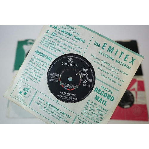 33 - Vinyl - The Beatles & Others collection of 10 45's including Get Back, Hey Jude, The Ballad Of John ...