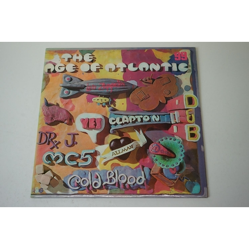 455 - Vinyl - Three Compilations LPs to include The Age of Atlangtic 2464013, Bumpers IDP1 29/11 Double Al...