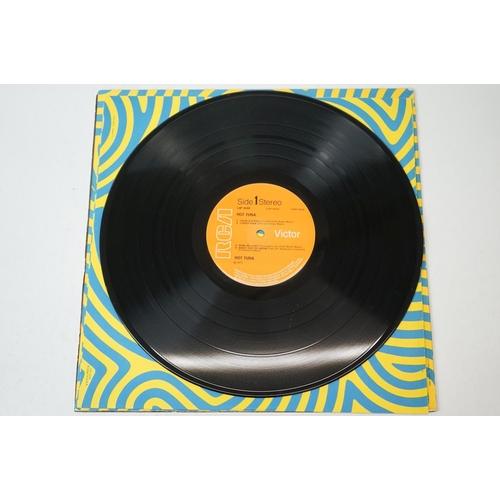 456 - Vinyl - Three Hot Tuna LPs to include self titled RCA LSP4550, Hot Tunaburgers on Grunt FTR1004, Hot...