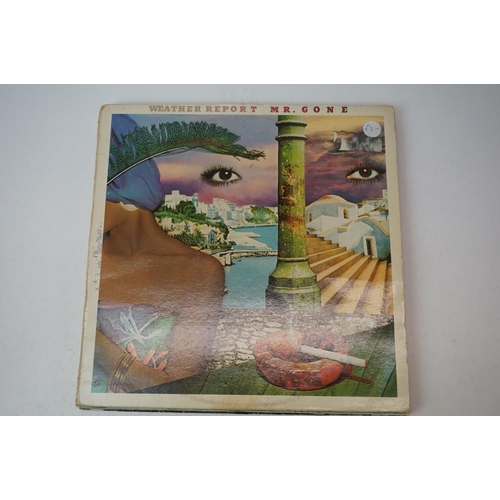 810 - Vinyl - Weather Report 6 LP's to include Mr Gone, Black Market, Procession, I Sing The Body Electric...