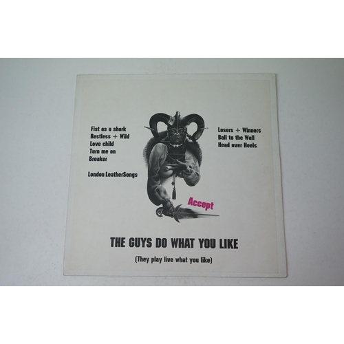 811 - Vinyl - Accept The Guys Do What You Like (Unofficial white label release).  Sleeve & Vinyl VG+