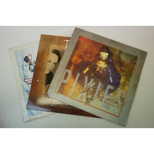 818 - Vinyl - The Pixies 2LP's & 1EP to include Troupe Le Monde (CAS 1014) Subbacultcha (ECHOLP 2010) and ...