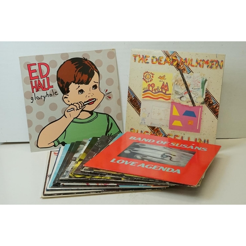 820 - Vinyl - Rock, Indie & Post Punk collection of approx 15 LP's including Ed Hall, The Dead Milkmen, Ba...