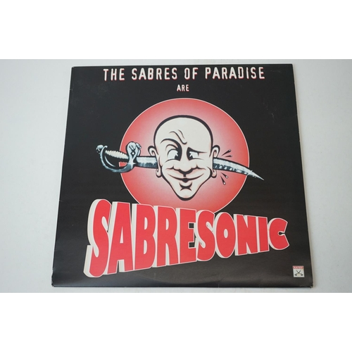 840 - Vinyl - Two Sabres of Paradise LPs to include Deep Cuts SOP001LP & Sabresonic on WARP LP16, plus 12