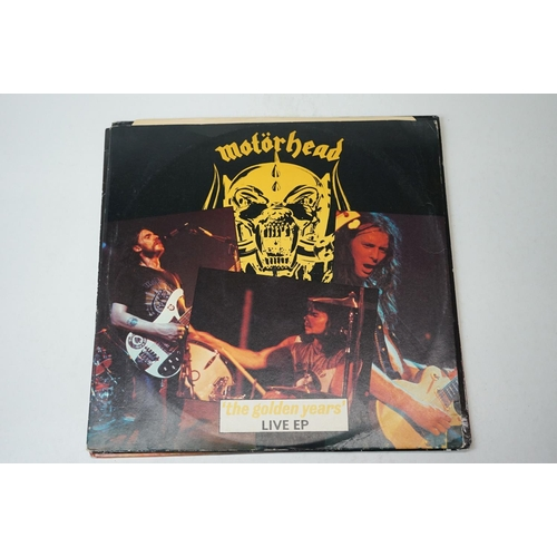 841 - Vinyl - Eight Motorhead LPs/EPs/12